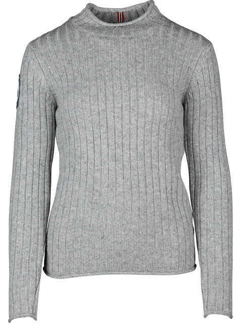"""Amundsen Sports W's Roald Roll Neck Pullover Light Grey"""